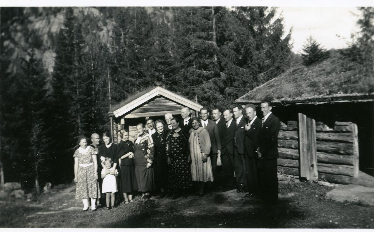 Familieportrett av Islandsmoen.
