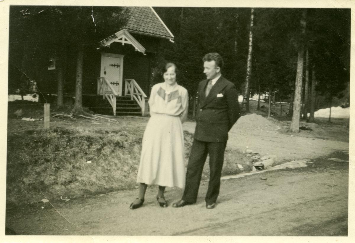 Asta og Ingvar Koppervik.