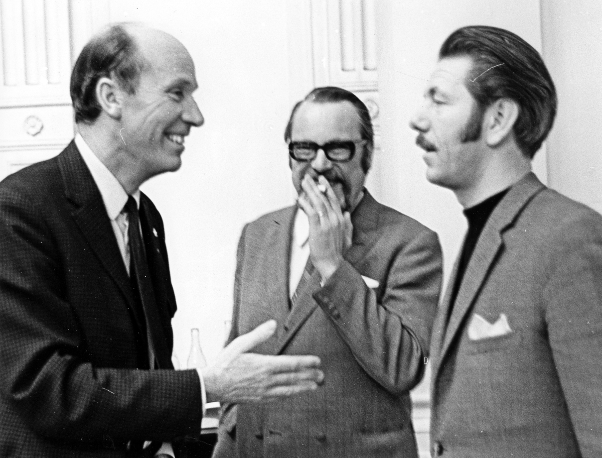Tre män, Gefle Lyriska Teater.