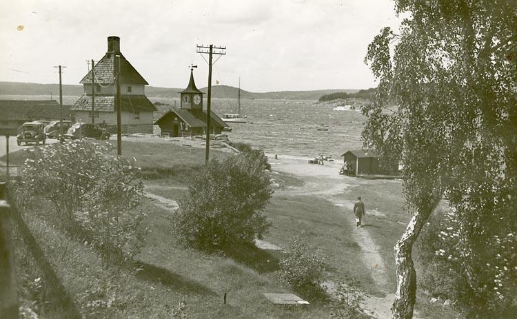 "Enligt Bengt Lundins noteringar: ""Hamnområde""."
