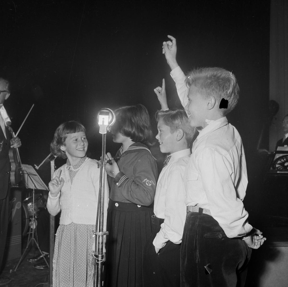 Barnetimen i Studentersamfundet 20. september 1952
