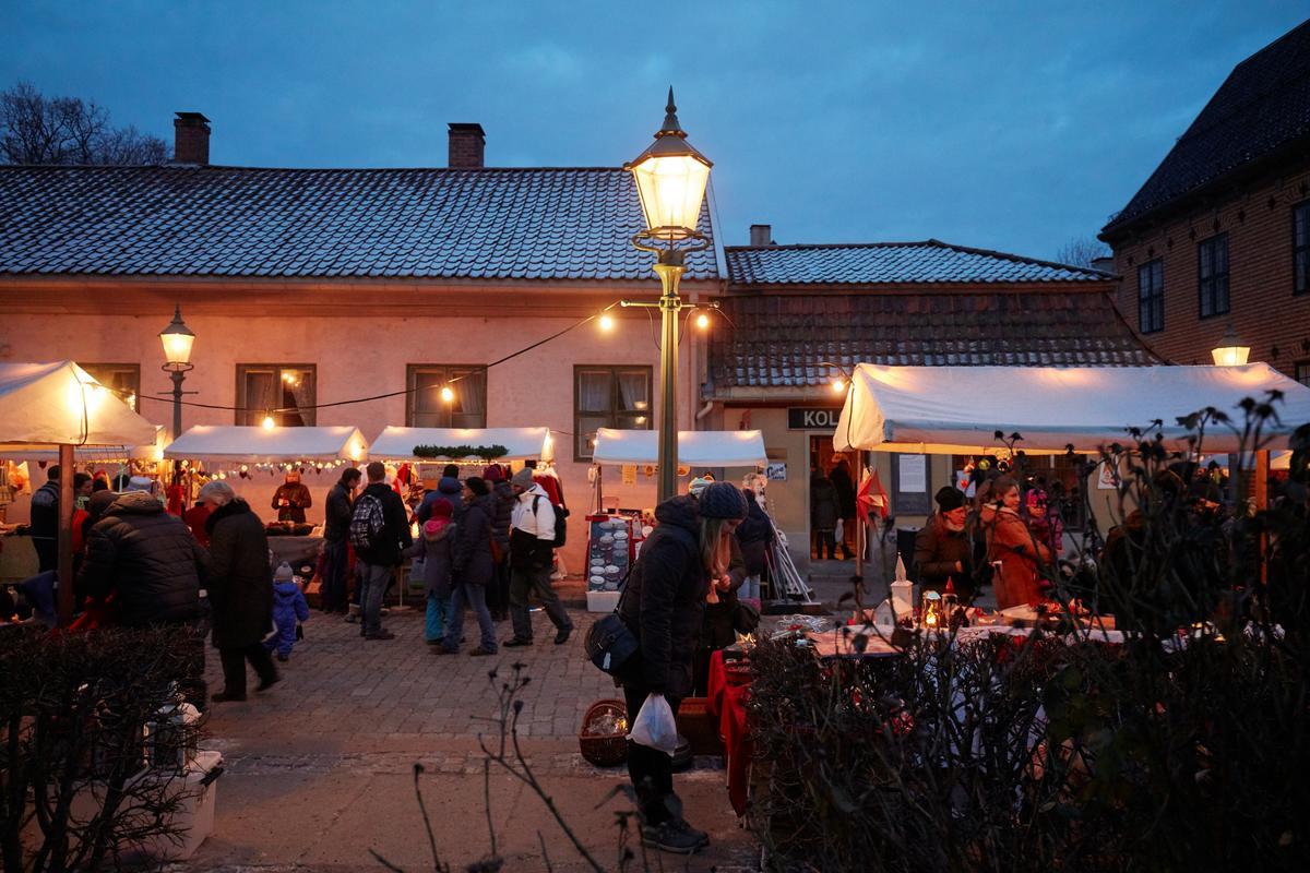 Christmas fair - Norsk Folkemuseum