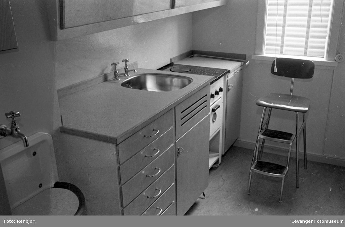 Kjøkken interiør, fra Bo-utstilling