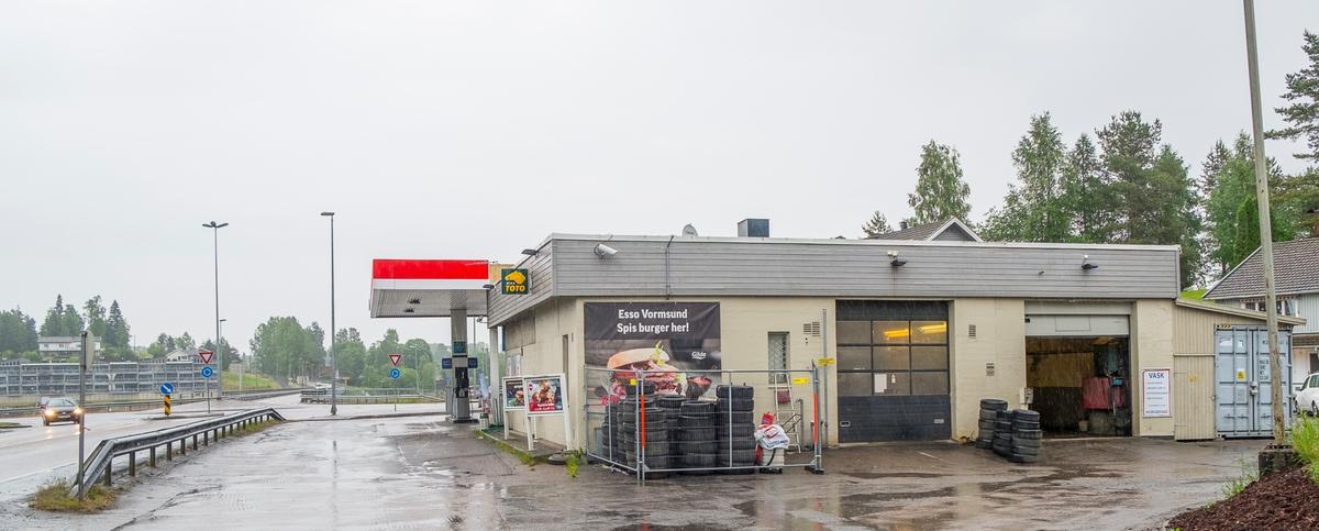 Esso bensinstasjon Kongsvingerveien Vormsund Nes
