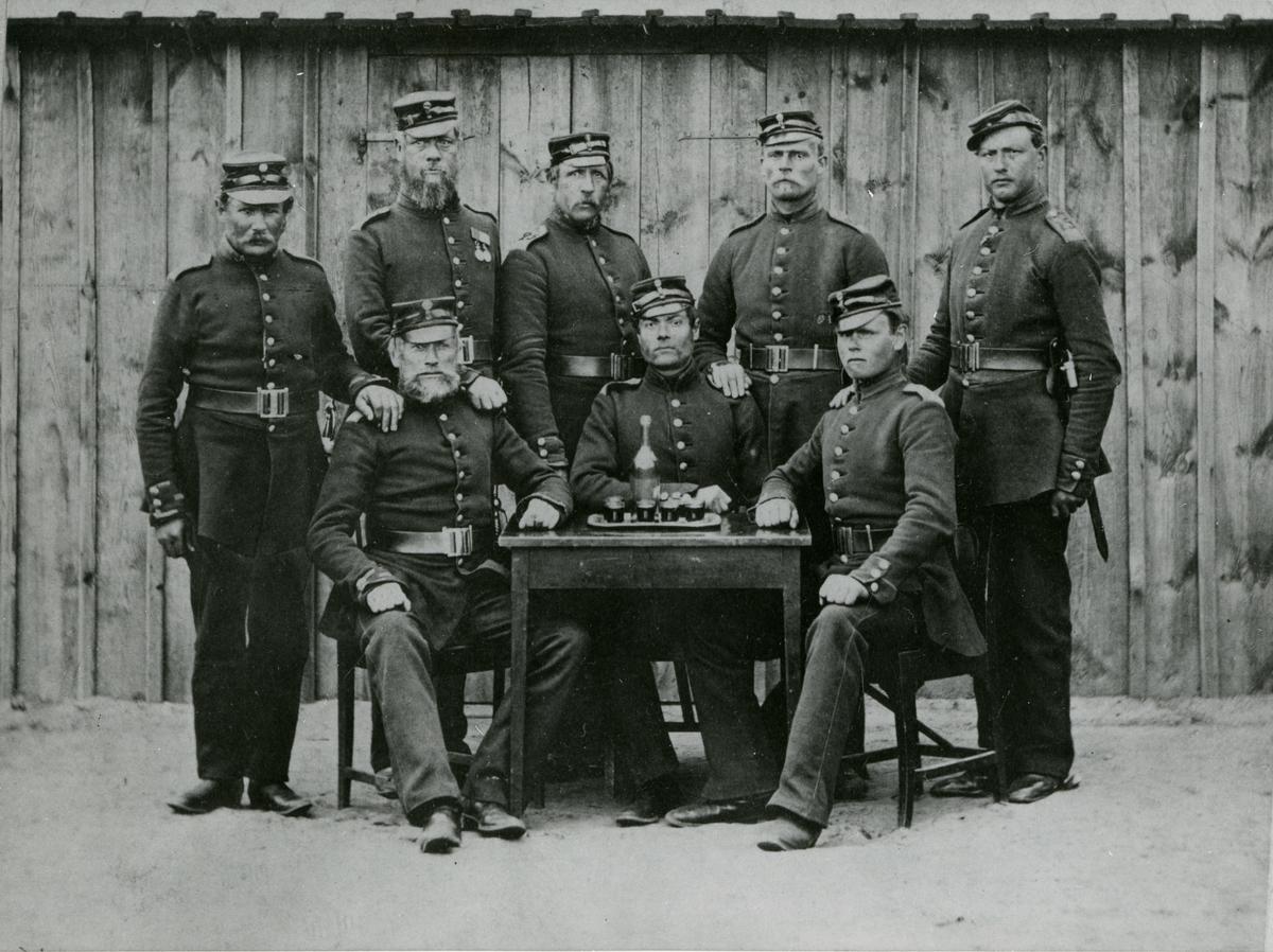 Meniga från Södra skånska infanteriregementet I 25.