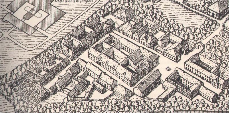 Plan for Gamlebyen 1915