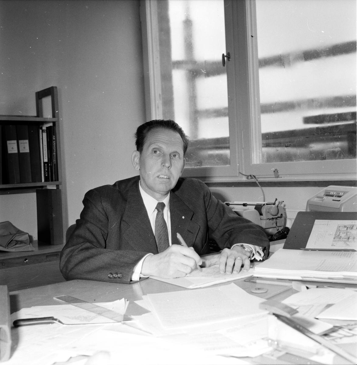 Mentalsjukhuset, Int. John Nilsson, 23 Maj 1962
