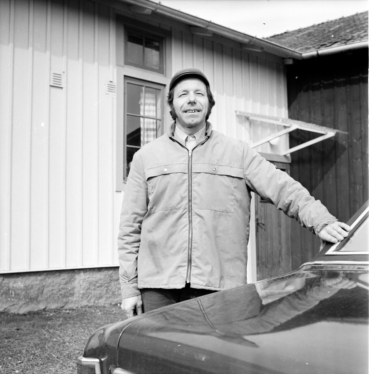 Arbrå, Gösta Asplin, April 1973