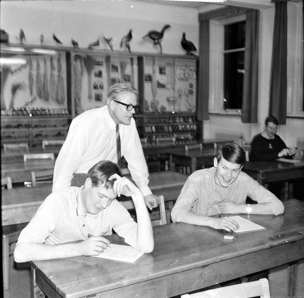 Nytorp, Skrivning i samhällskunskap, Mars 1968