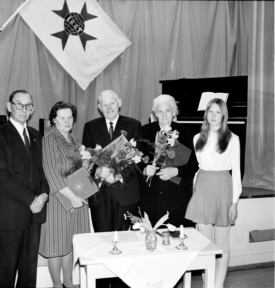 Arbrå, IOGT, högtidsmöte, 16 Januari 1969