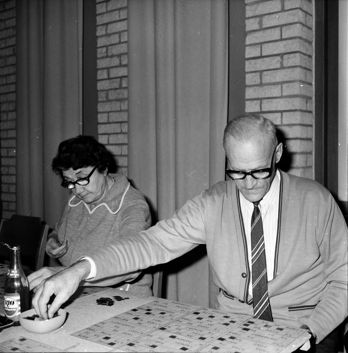 Arbrå, Bingo på Forum, Oktober 1971