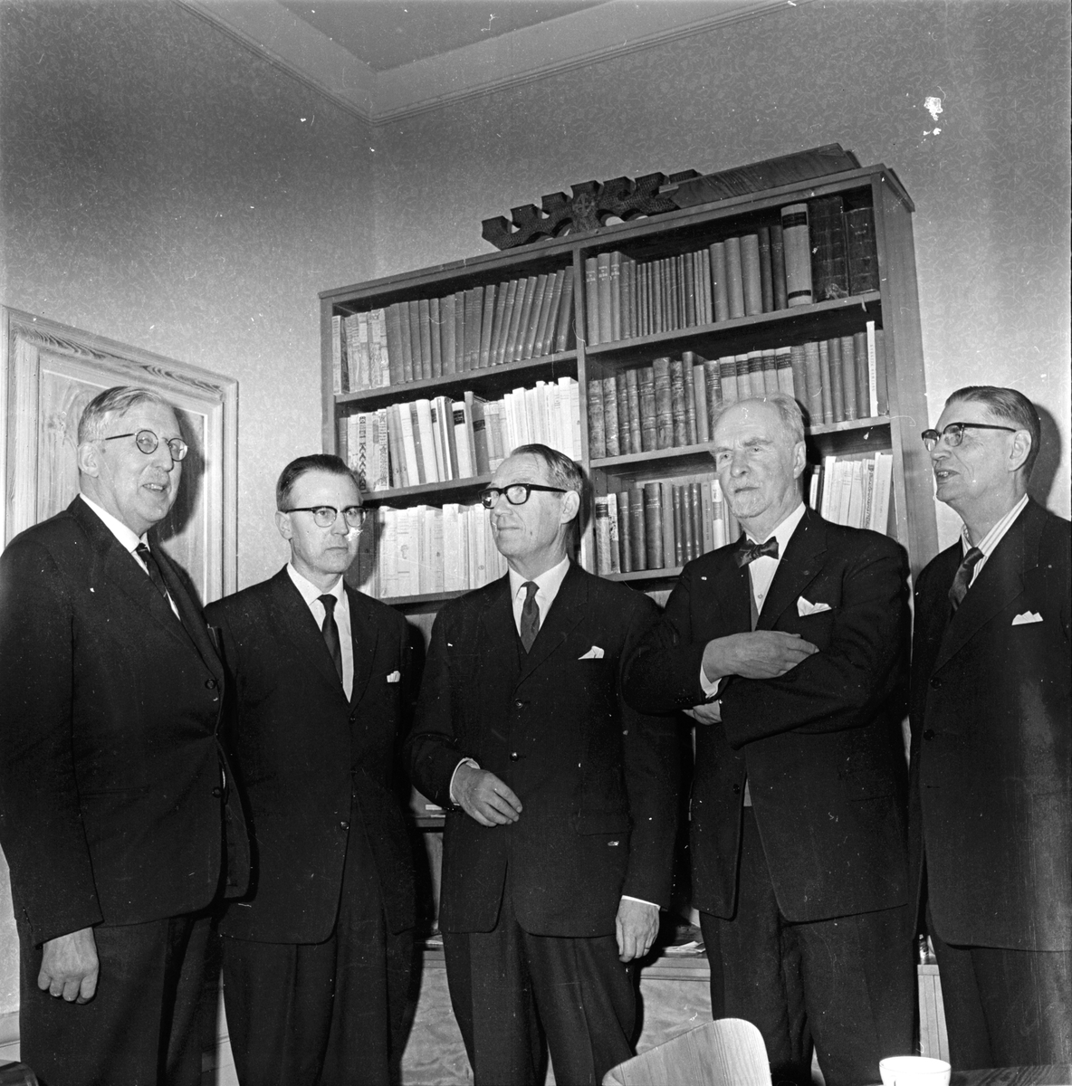 Stiftsgården, Pastoratsförbundskurs, 4 Mars 1964