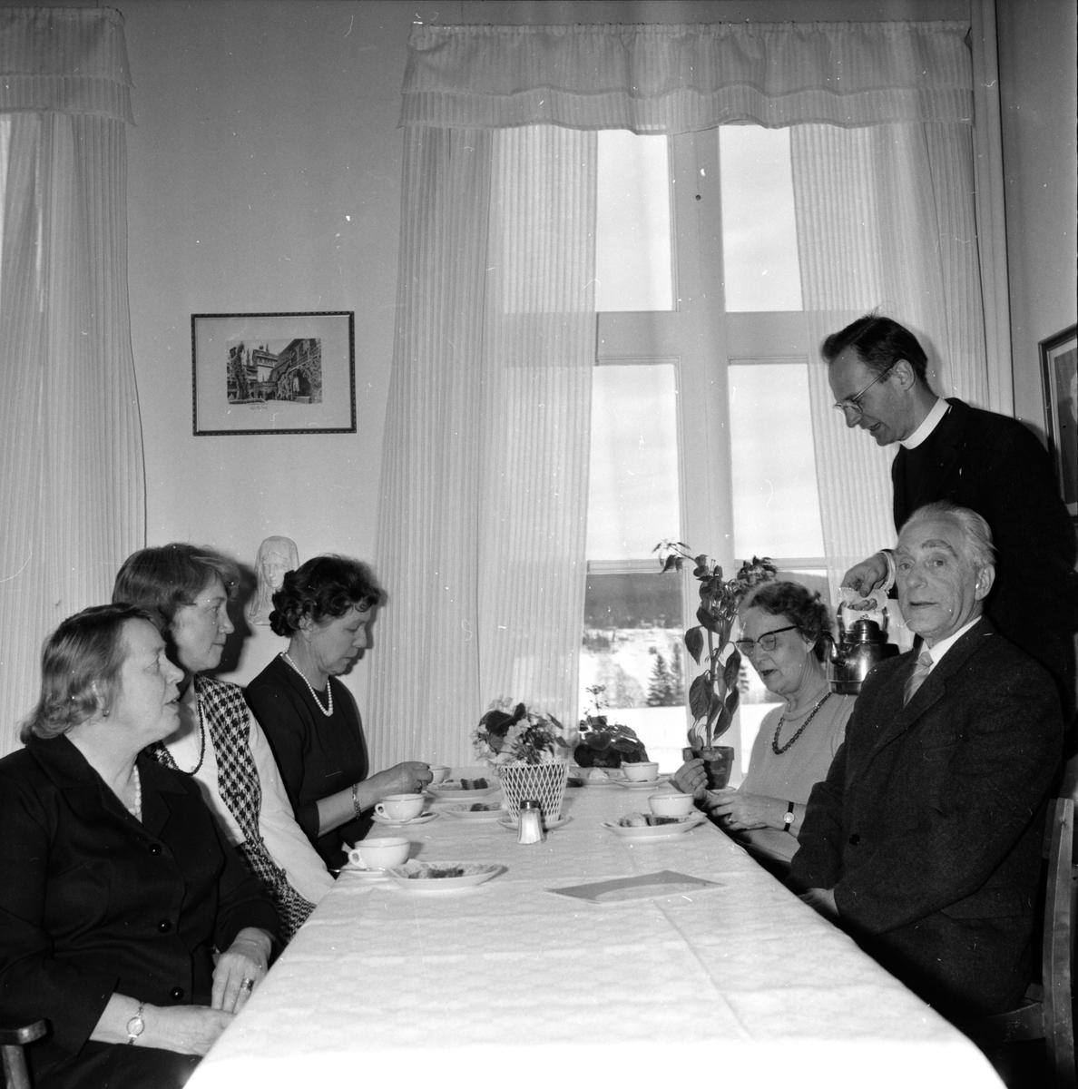 Undersvik, Stiftsgården, Handarbetsdagar, 11 Februari 1965