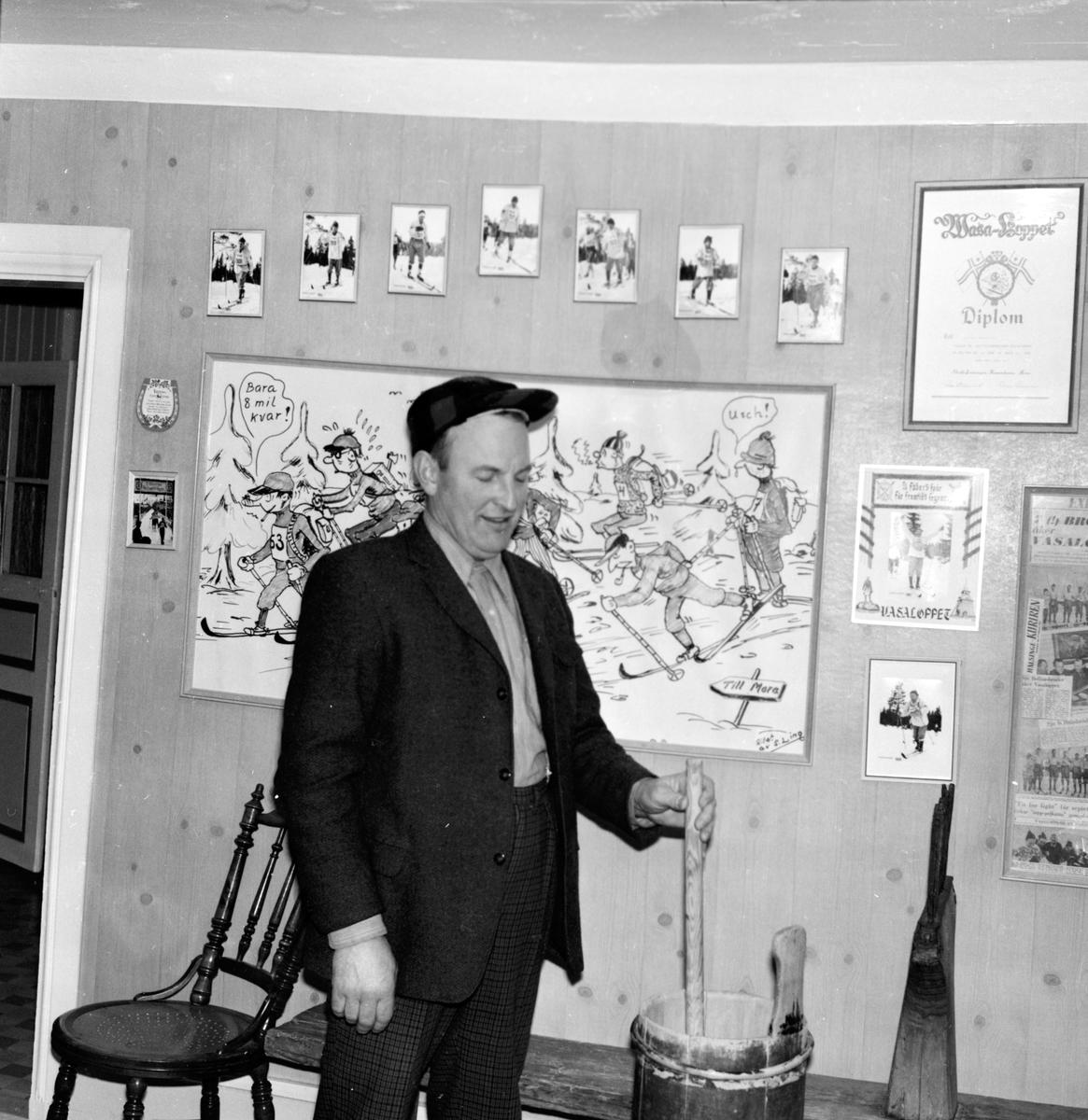 Sörbo, Tupp Håkan i i radio, Dec. 1969