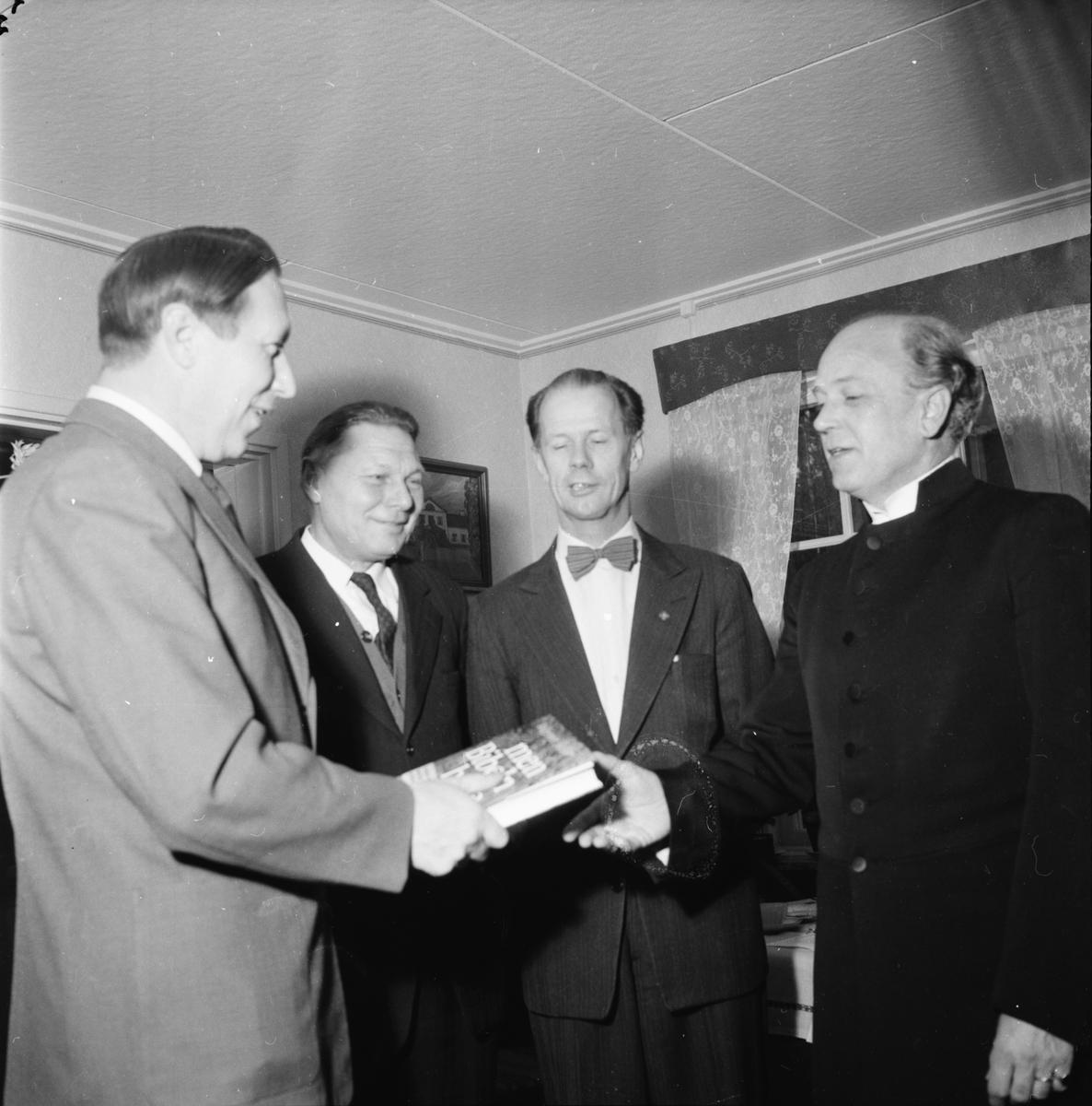 Kyrkoherde Åke Bungner, Radioandakt på folkhögskolan 1957