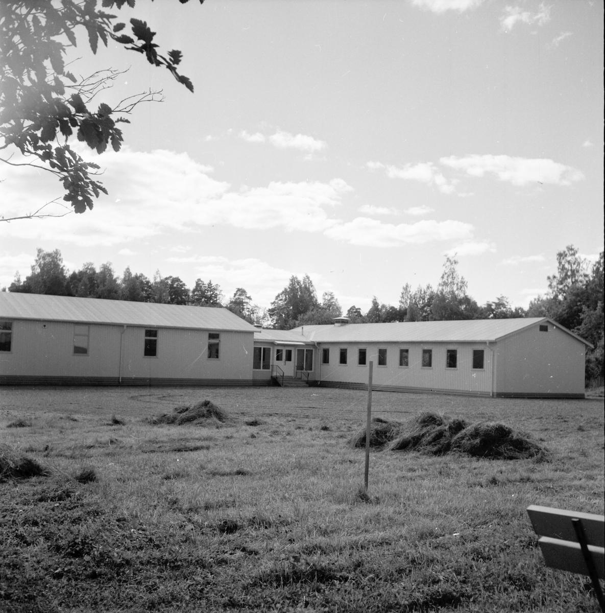 Skolpaviljong i Bollnäs, 21 aug 1961