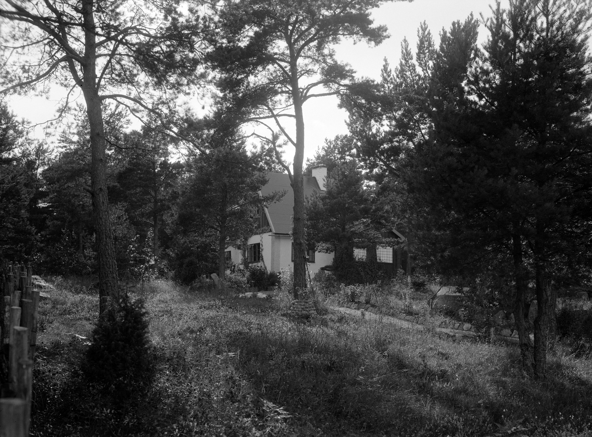 Villa, sannolikt Uppland, 1934