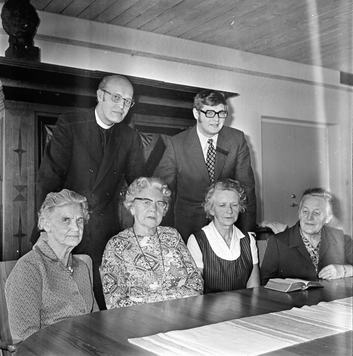 Stiftsgården, syföreningsdag Oktober 1972