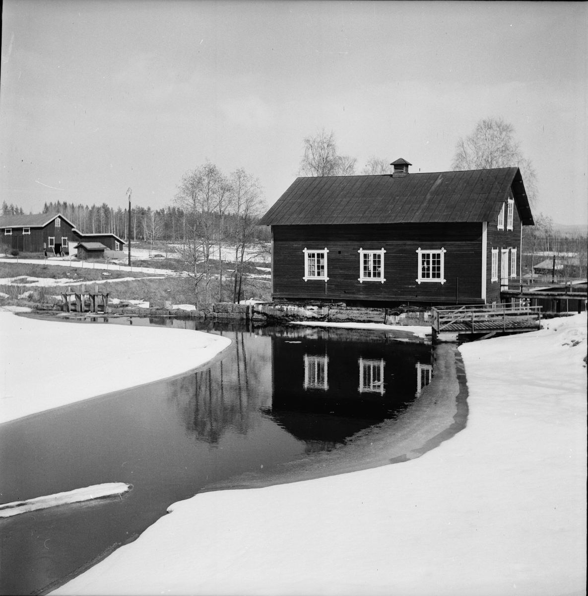 Simeå, Bilder fr samhället, April 1972