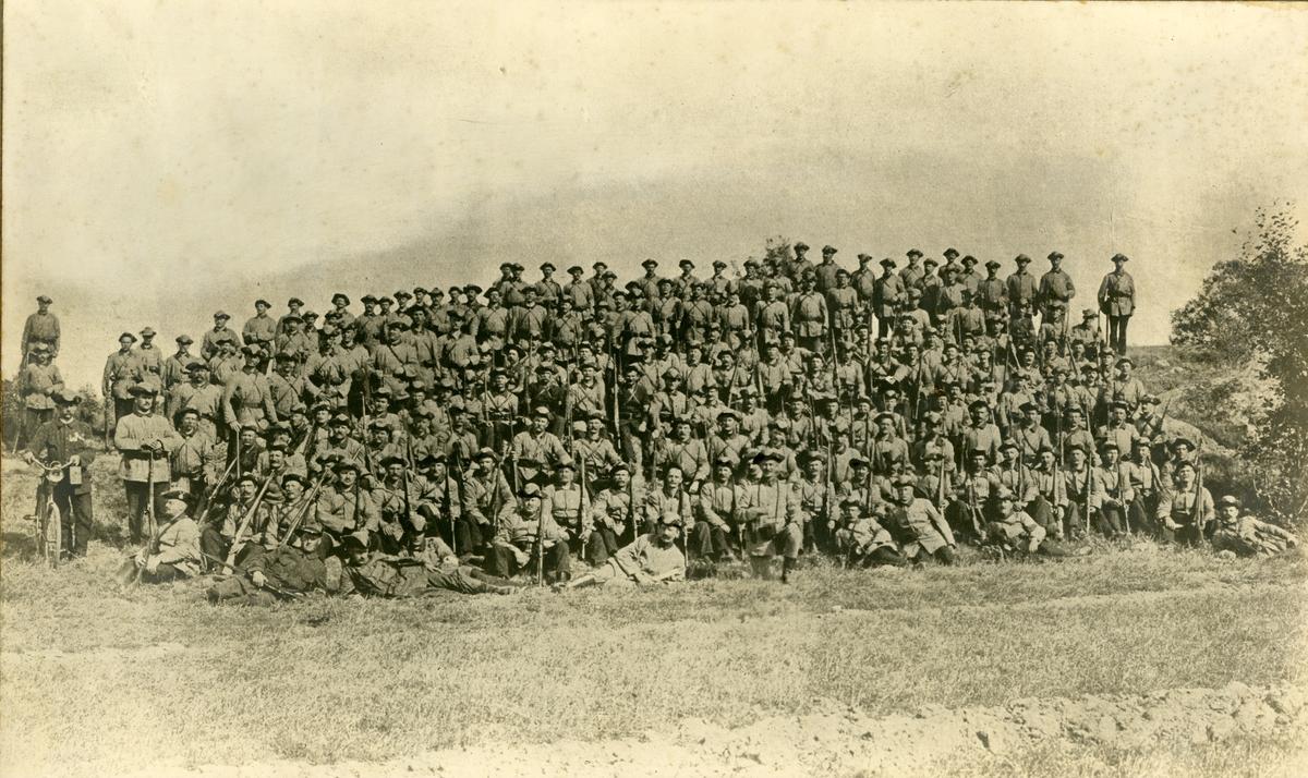 Landstormens mobilisering, Göteborg 1914.