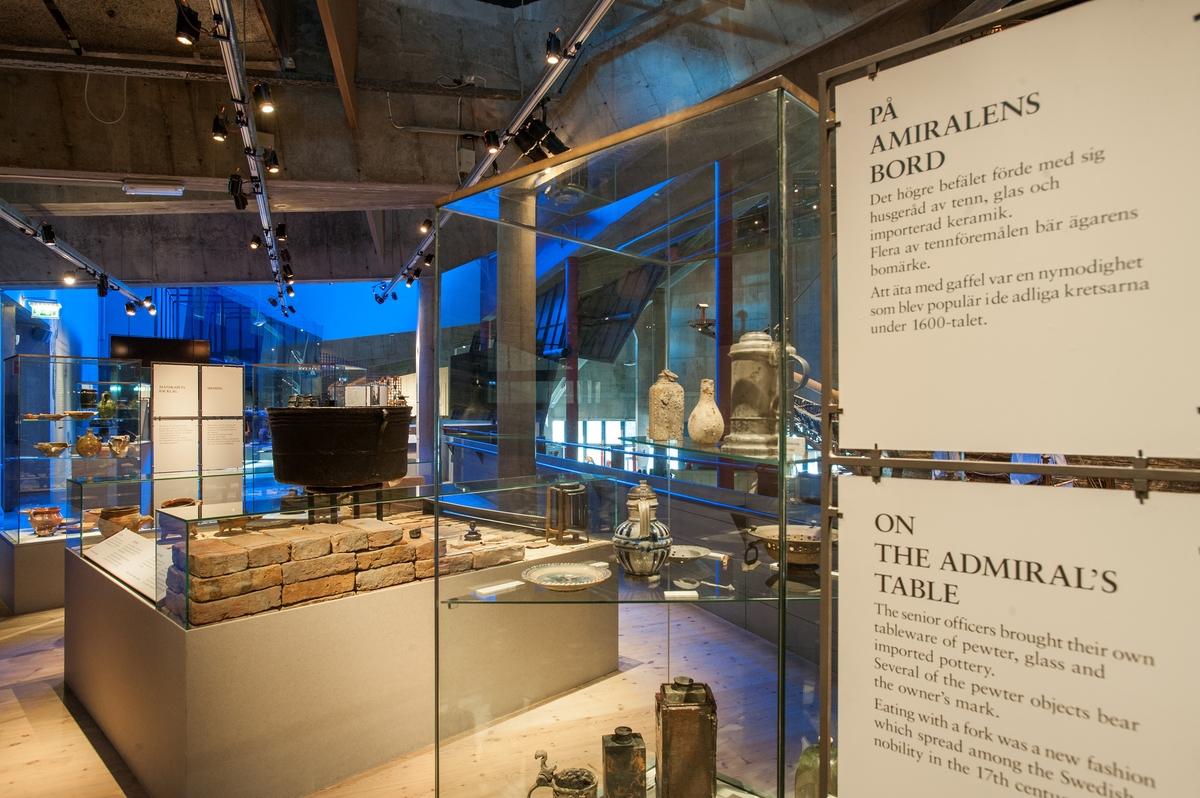 Utställning Livet ombord på Vasamuseet