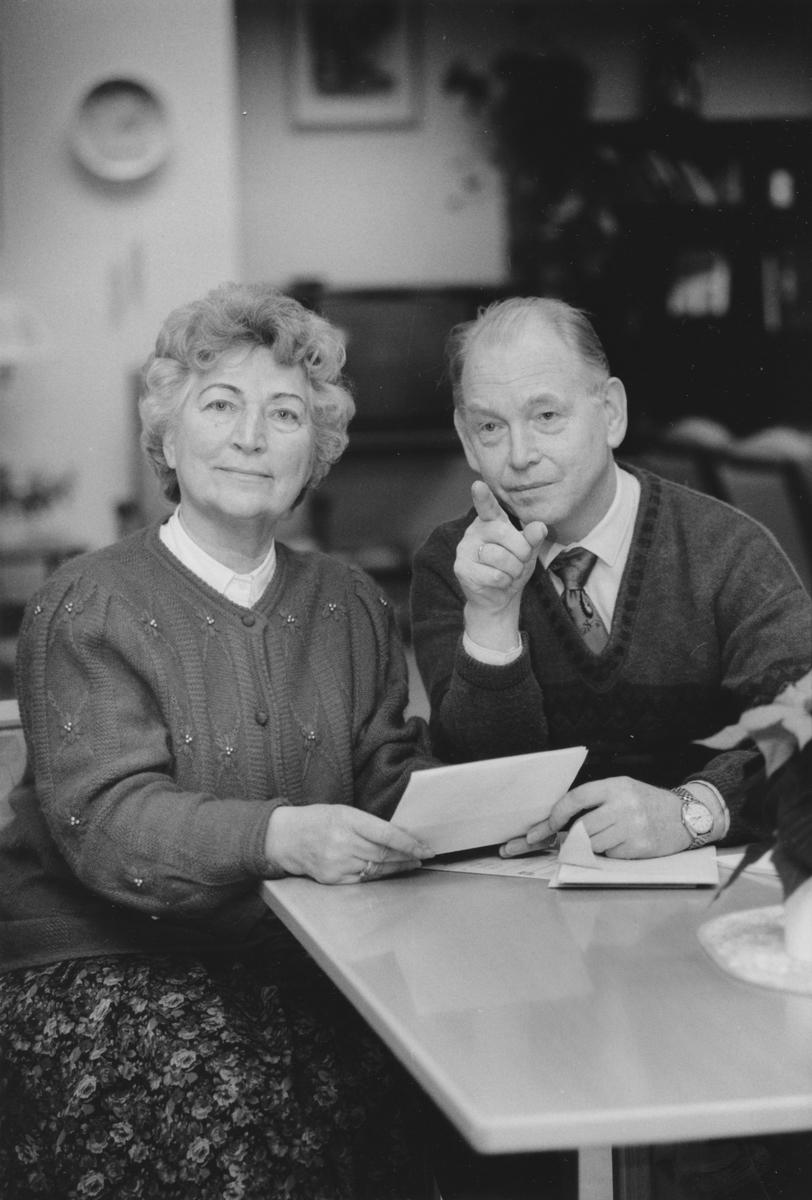 Portrett av Inger Andresen og Rudolf Barmo.