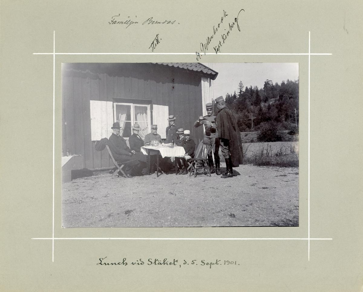 Lunch vid Stäket, den 5 september 1901.