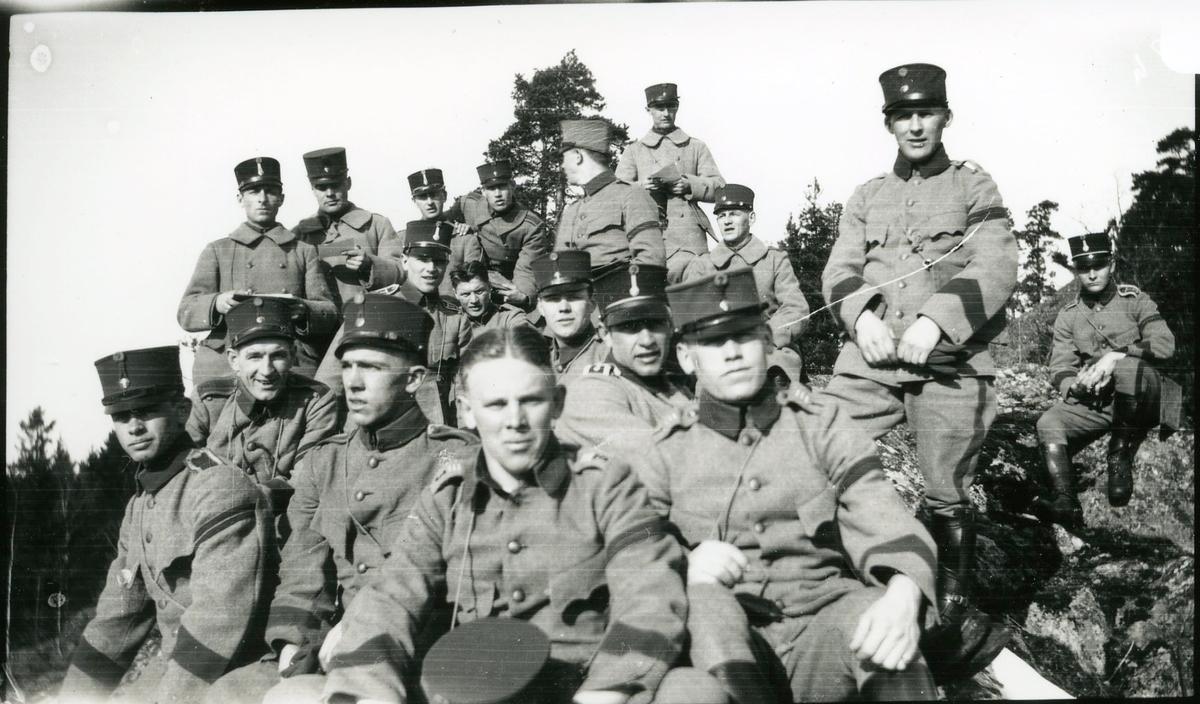 Arméns Underofficersskola, förberedande, Fort och Träng.