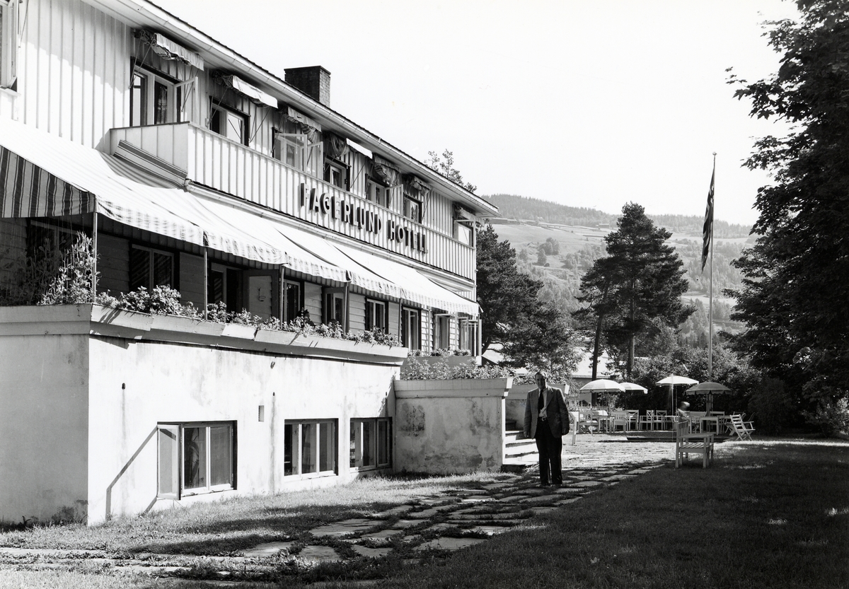 Fagerlund hotell, Fagernes, Nord-Aurdal.