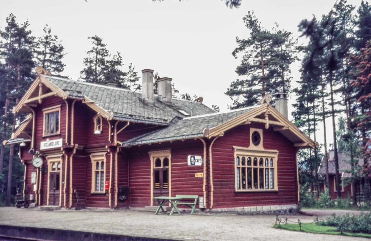 Byglandsfjord stasjon på Setesdalsbanen.