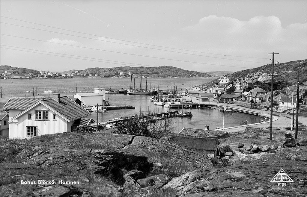Bohus Björkö, Hamnen