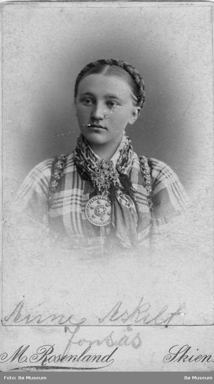 Portrett av Anne Askilt Jonsås