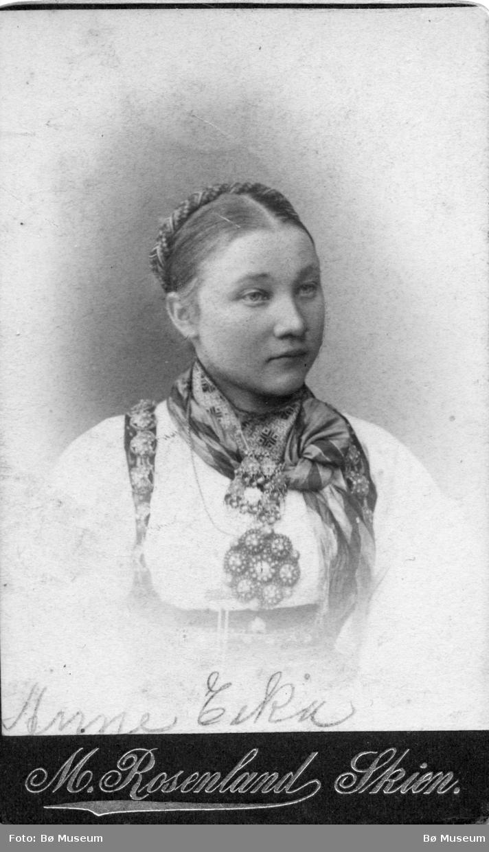 Portrett av Anne Eika Halvorsen