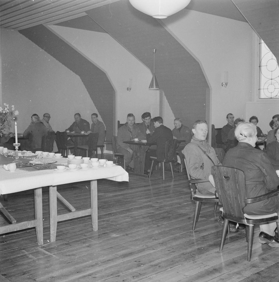 Lucia på Bayerska bryggeriet, Uppsala 1958