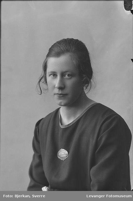 Portrett av Berit Mælan