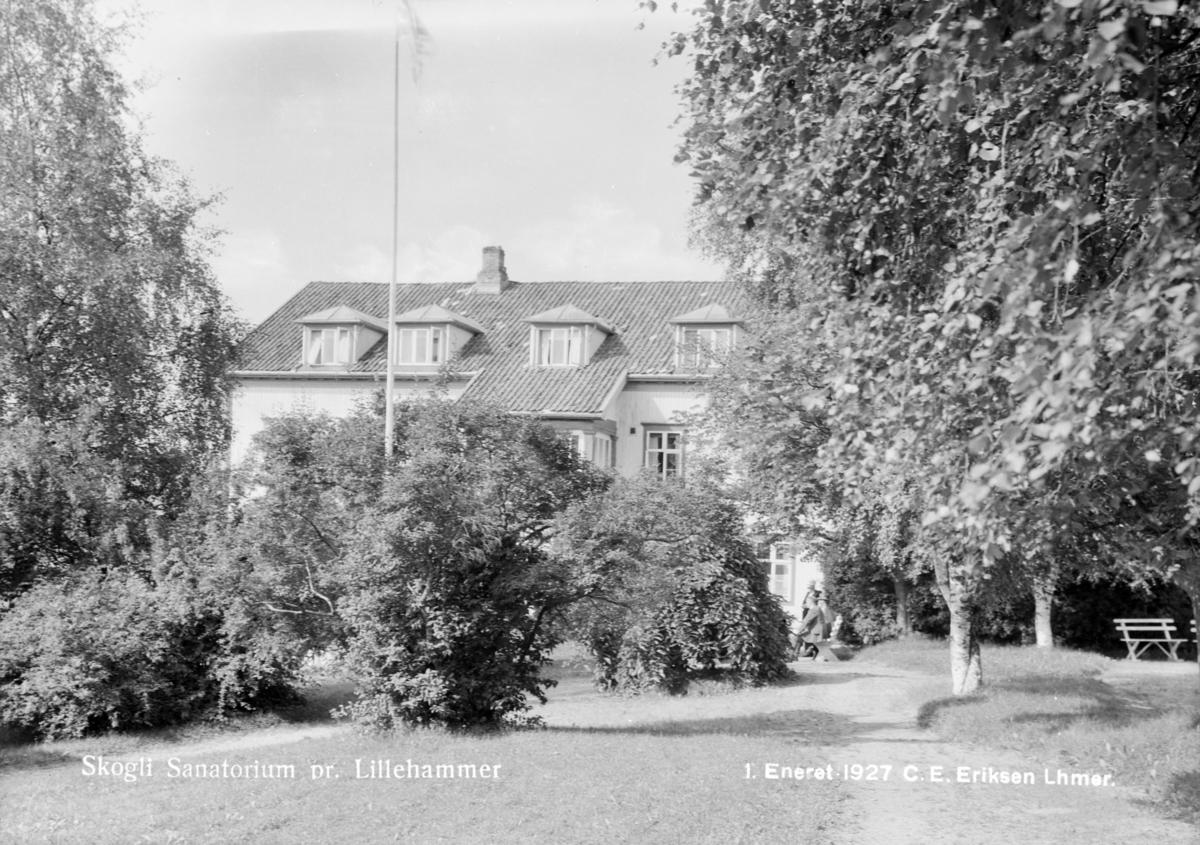 Skogli sanatorium i Lillehammer.