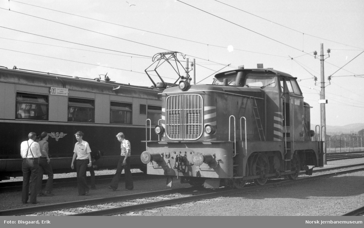 Diesellokomotiv nr. 18 fra Norsk Hydro på Herøya