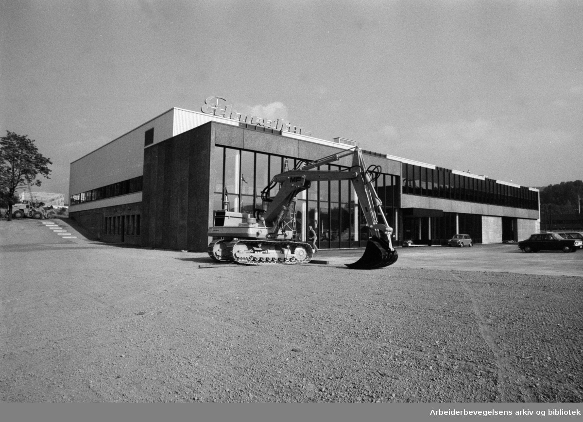 Strømsveien: A/S Eikmaskin. September 1973