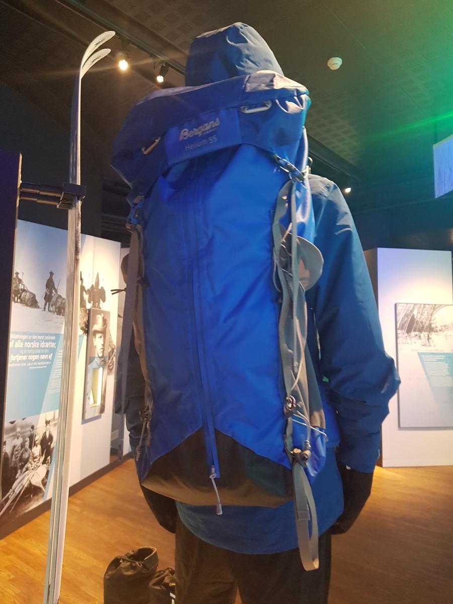 Sekk Norges Olympiske Museum DigitaltMuseum