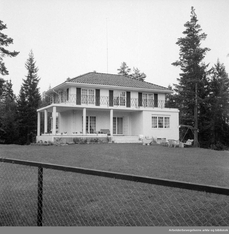 Ullernchausseen. September 1955