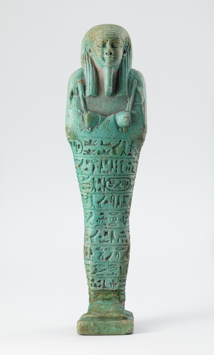 Gravfigur fra overintendent i flåten, Psanétik-méry-Ptahs grav [Statuett]