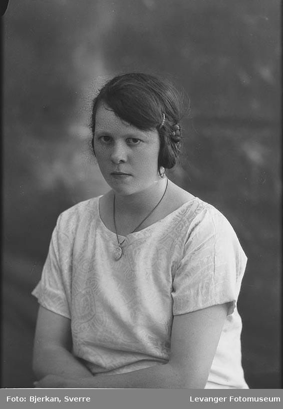 Portrett av Sigrid Rysgård
