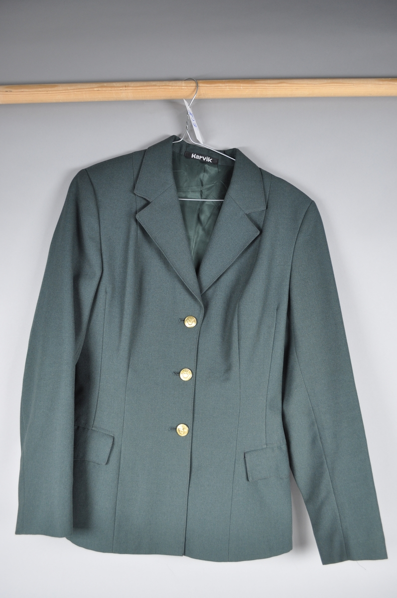 Uniformsjakke, dame, vinter
