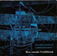 Vidar Sandbeck Reklame-EP for sjømannsavdelingen i Den norske Creditbank
