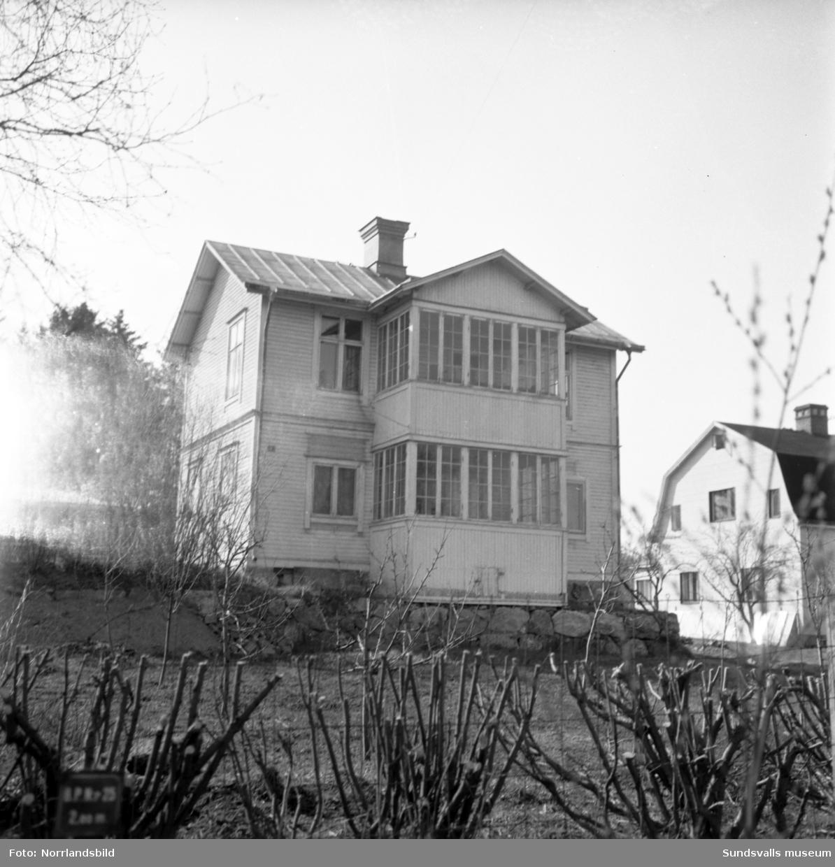 Fastighet på Trafikgatan 19, huset revs i samband med bygget av bostadsområdet vid Riddargatan.