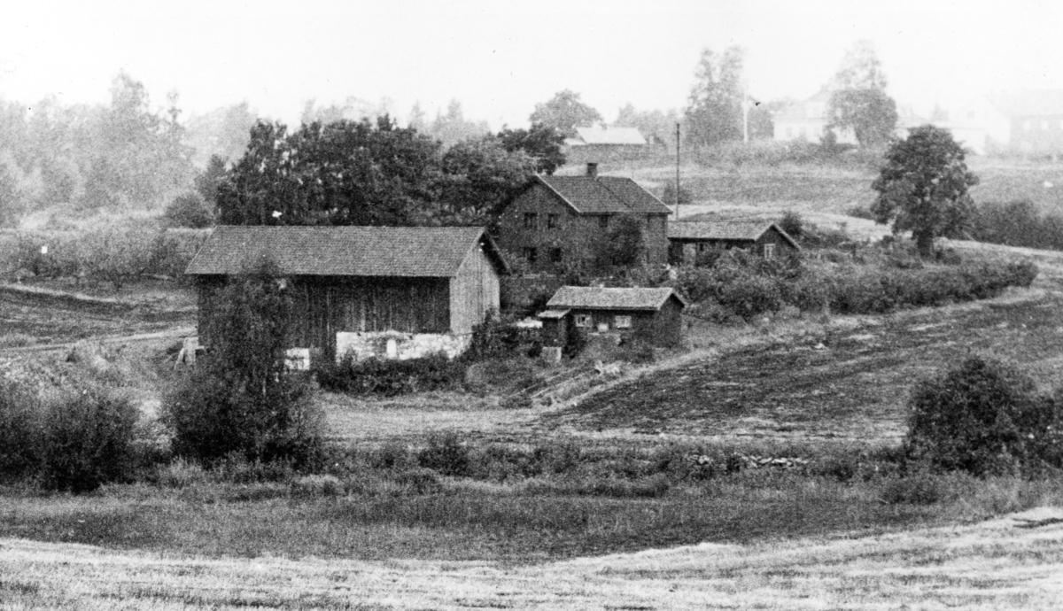 Lars Jordes barndomshjem Jordeplassen, under Vang prestegård, Hedmark