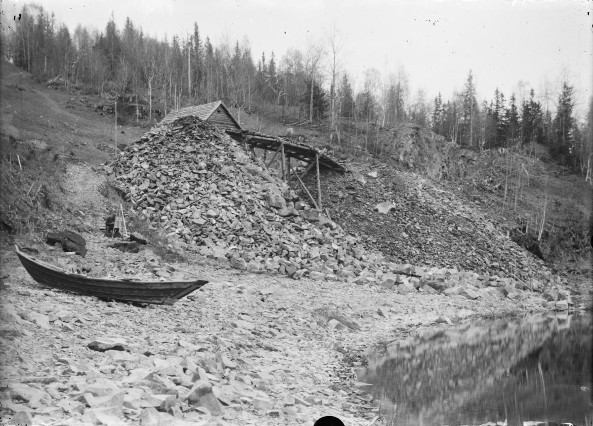 Jernbaneanlegget Hamar-Otta, planeringsarbeider nord for Bergseng
