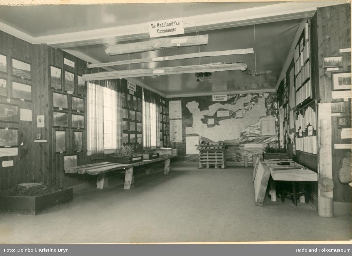 Hadelandsutstillingen 1929. Utstilling laget av almenningene på Hadeland.