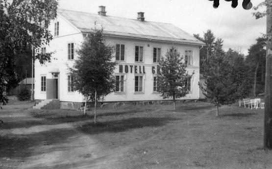 Hotellet i Likenäs.