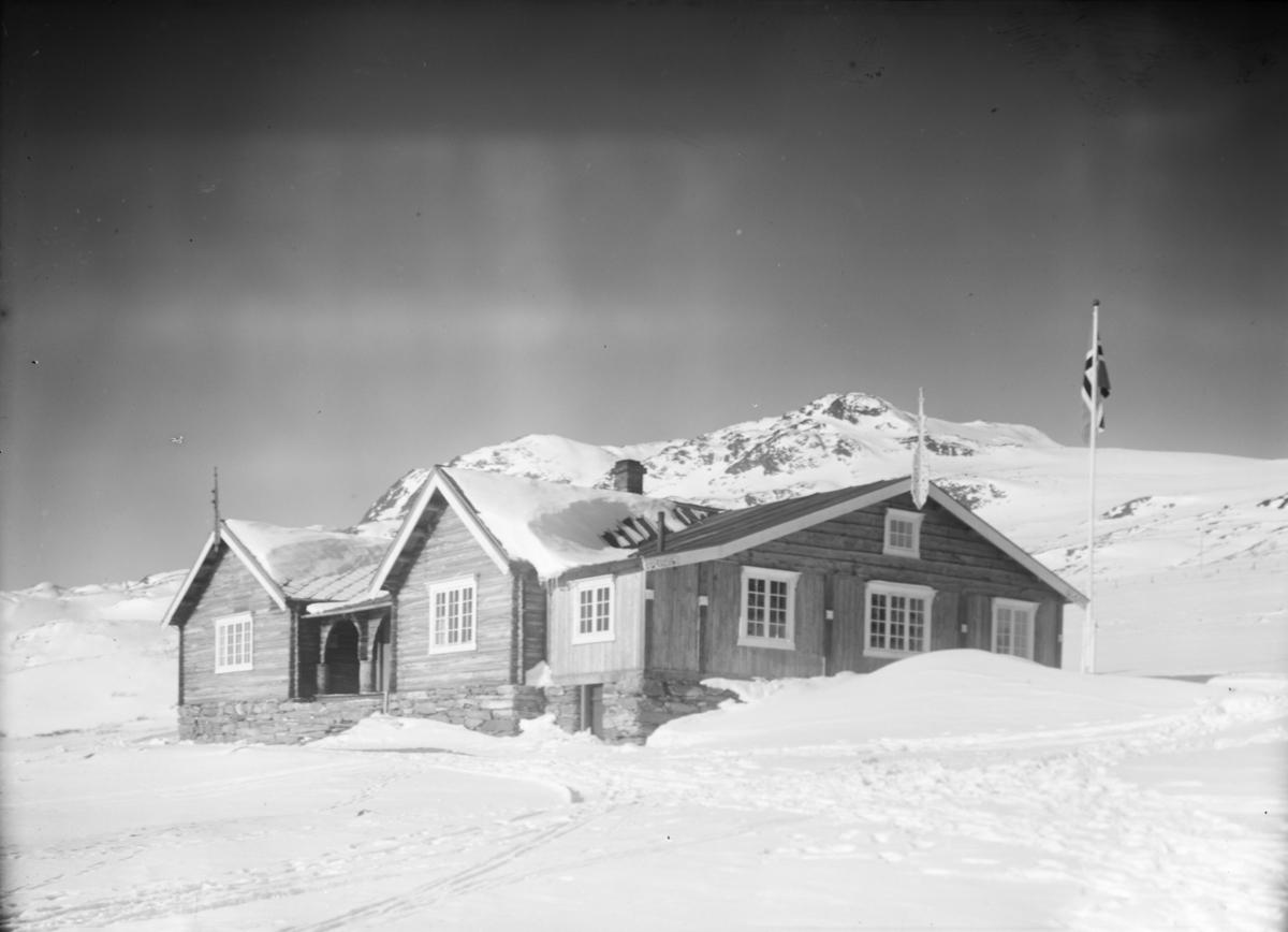 Sjodalen, Bessheim mot Veslfjellet, vinter